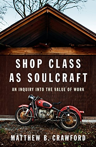 9781594202230: Shop Class as Soulcraft: An Inquiry Into the Value of Work