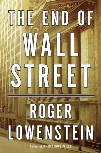 9781594202391: The End of Wall Street