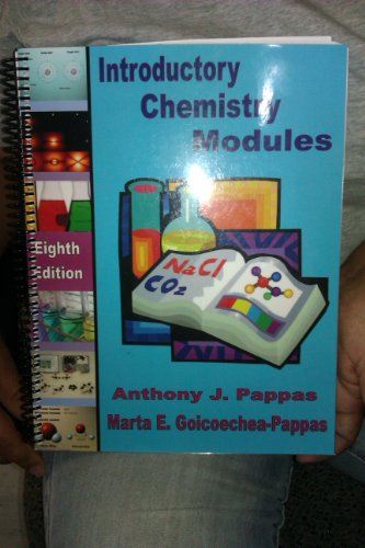 9781594270086: Introductory Chemistry Modules
