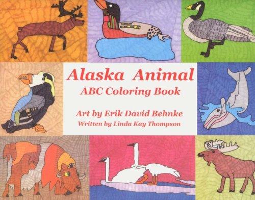 9781594330780: Alaska Animal ABC Coloring Book