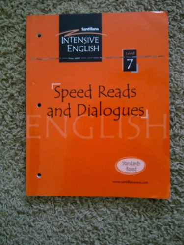 9781594375866: Speed Reads and Dialogues Level 7 (Santillana Intensive English)