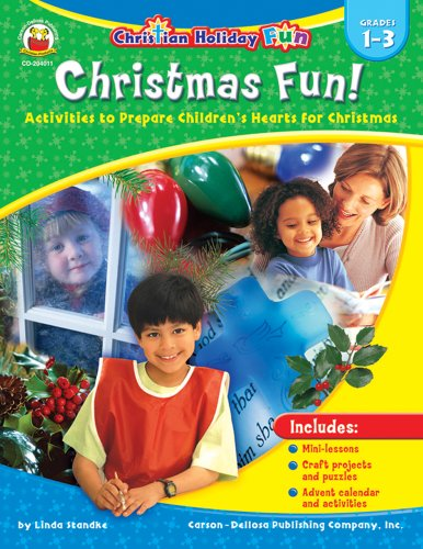 9781594410840: Christmas Fun!, Grades 1 - 3: Activities to Prepare Children's Hearts for Christmas