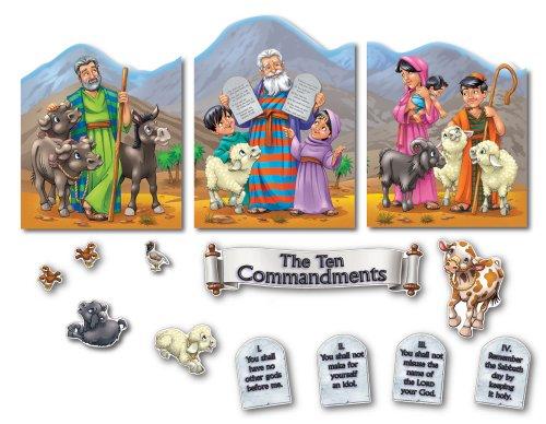 9781594411250: The Ten Commandments Bulletin Board Set