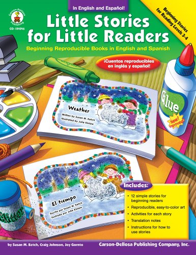 9781594411502: Little Stories For Little Readers, Beginning Reproducible Books in English and Spanish