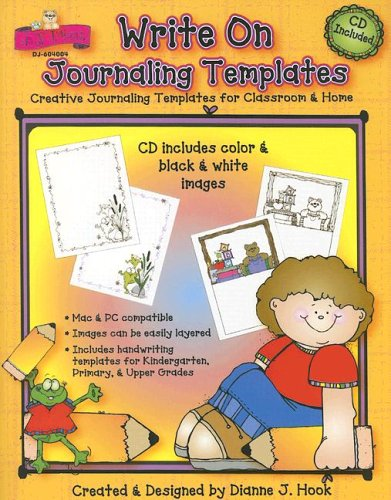 9781594411854: Write on Journaling Templates: Creative Journaling Templates for Classroom & Home with CDROM