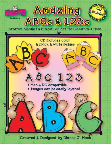 9781594411892: Amazing ABCs and 123s: Creative Alphabet & Number Clip Art for Classroom & Home