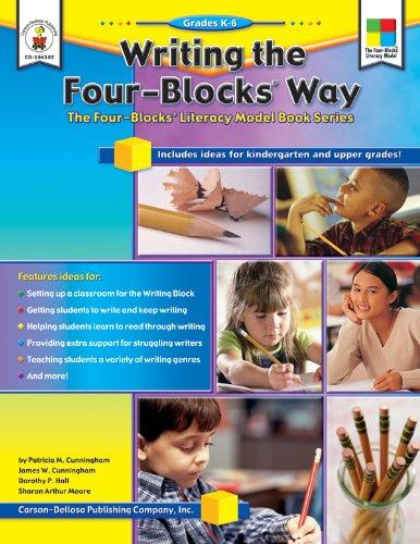 9781594411953: Writing the Four-Blocks® Way, Grades K - 6: The Four-Blocks® Literacy Model Book Series