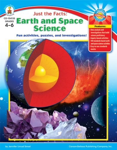 Just the Facts: Earth and Space Science: Fun activities, puzzles, and investigations!: Jennifer ...