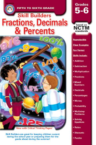 9781594412691: Fractions, Decimals, & Percents, Grades 5 - 6 (Skill Builders™)