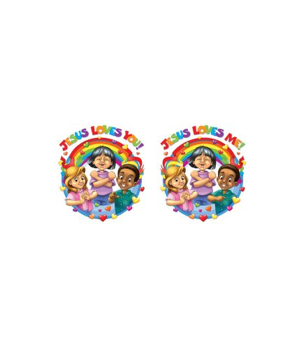 9781594413759: Jesus Loves Me Two-Sided Decoration