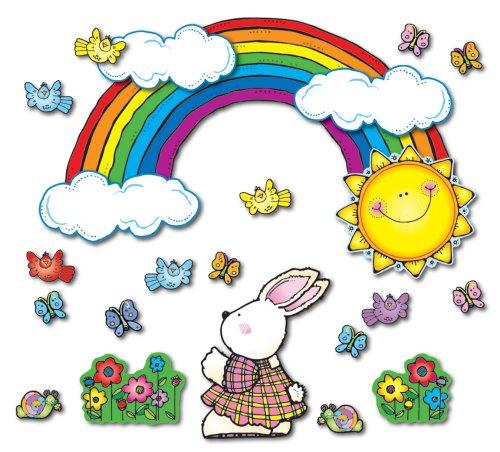 9781594415197: Sun 'n Rainbow Bulletin Board Set