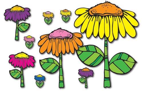 9781594415210: Flower Garden Bulletin Board Set