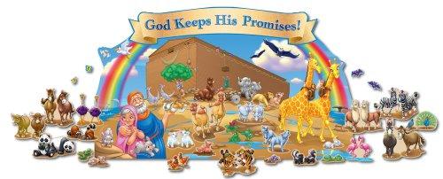 9781594415715: Noah's Ark Bulletin Board Set