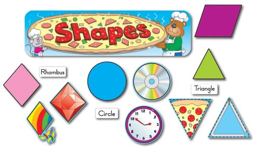 9781594416200: Shapes Mini Bulletin Board Set