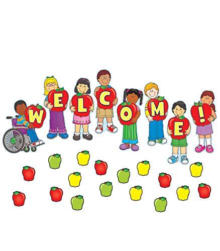 9781594416224: Welcome Mini Bulletin Board Set