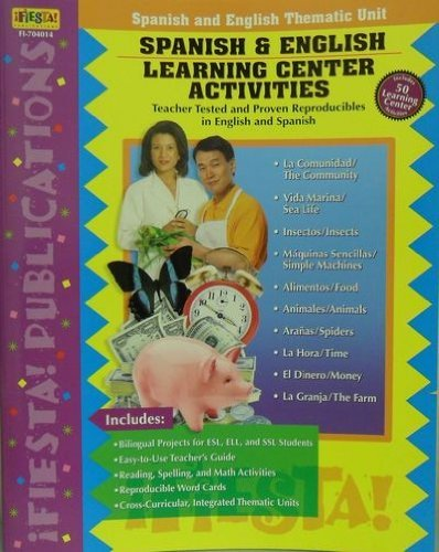 9781594416408: Spanish & English Learning Center Activities