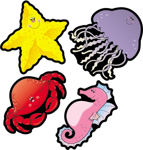 9781594418648: Ocean Animals Cut-Outs