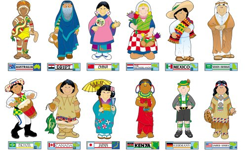 9781594419485: International Kids Bulletin Board Set