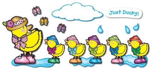 9781594419799: Just Ducky Bulletin Board Set