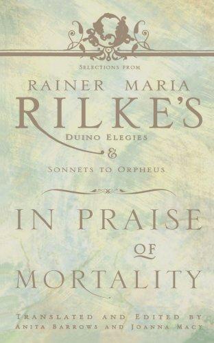 In Praise of Mortality: Barrows, Anita; Macy,