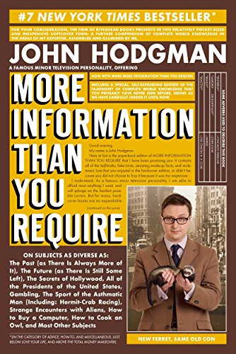 More Information Than You Require: Hodgman, John