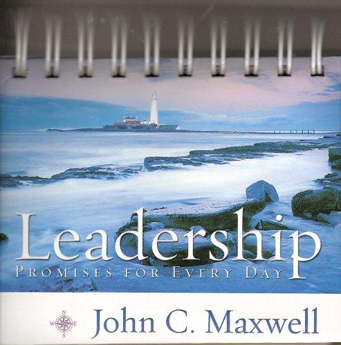 Leadership Calendar Spiral Bound: John C. Maxwell