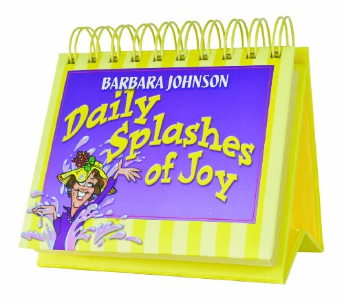 9781594497926: Daily Splashes Of Joy - 365 Day Perpetual Calendar