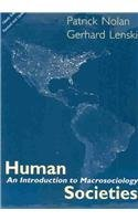 9781594510236: Human Societies: An Introduction to Macrosociology