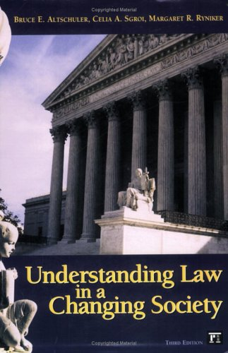 9781594511301: Understanding Law in a Changing Society
