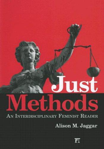 9781594512049: Just Methods: An Interdisciplinary Feminist Reader