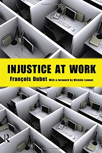 9781594516870: Injustice at Work (The Yale Cultural Sociology Series)