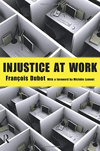 9781594516887: Injustice at Work (The Yale Cultural Sociology Series)