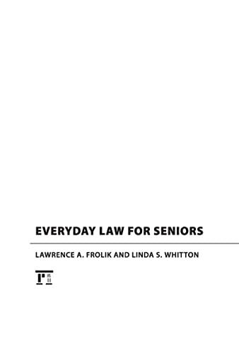 9781594517013: Everyday Law for Seniors