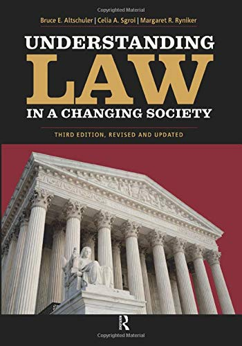 9781594517174: Understanding Law in a Changing Society