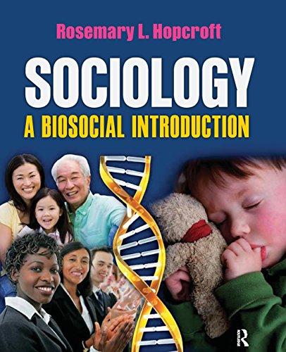 9781594518010: Sociology: A Biosocial Introduction