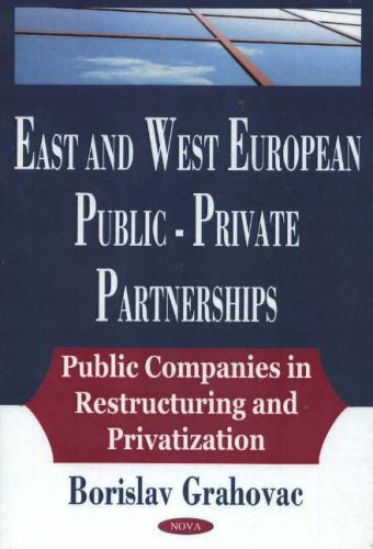 9781594540738: East And West European Public-private Partnerships: Public Companies In Restructuring And Privatization