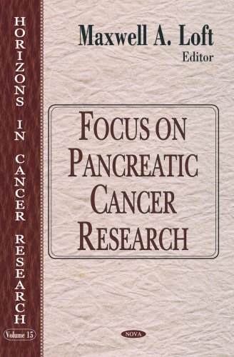 9781594542701: Focus on Pancreatic Cancer Research (Horizons in Cancer Research)