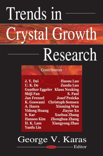 9781594545412: Trends in Crystal Growth Research