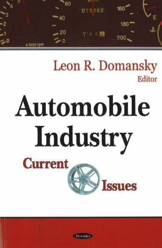 Automobile Industry: Current Issues (Hardback): Lillian V. Williams