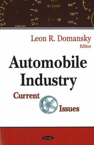 Automobile Industry: Current Issues (Hardback): Lillian V. Williams