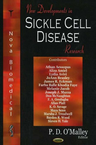 New Developments in Sickle Cell Disease Research (Hardback): P.D. O Malley