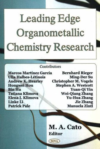 9781594548536: Leading Edge Organometallic Chemistry Research