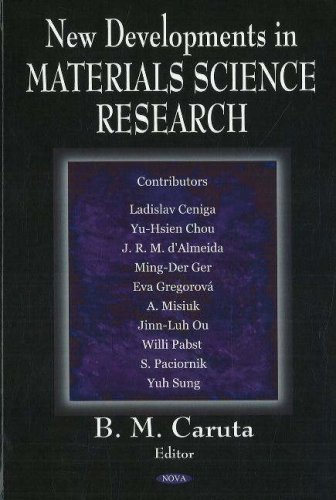 9781594548543: New Developments in Materials Science Research