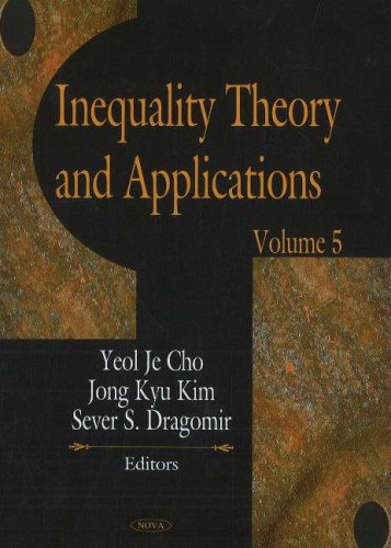 9781594548758: Inequality Theory and Applications (Volume 5)
