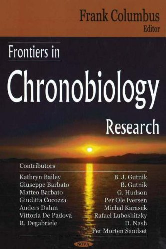 9781594549540: Frontiers in Chronobiology Research