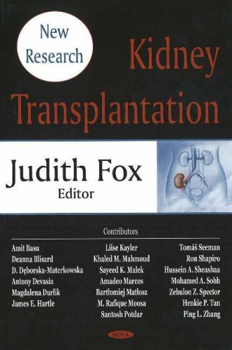 Kidney Transplantation: New Research: Fox, Judith [Editor]