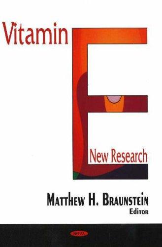 9781594549700: Vitamin E: New Research