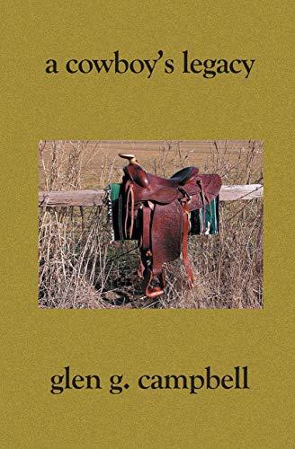 9781594573507: A Cowboy's Legacy