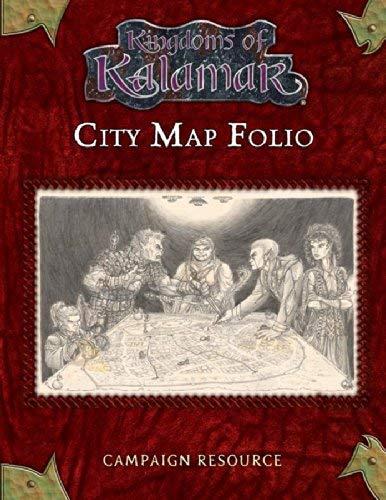 9781594590269: Kingdoms of Kalamar City Map Folio