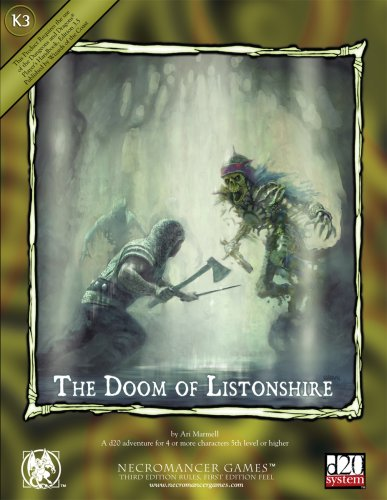 9781594590481: The Doom of Listonshire (Dungeons & Dragons d20 3.5 Fantasy Roleplaying Supplement)